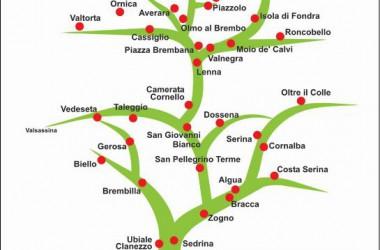 Cartina via mercatorum