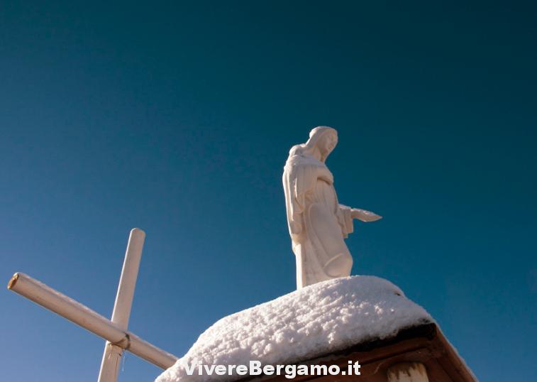 Madonnina monte Redondo Gromo