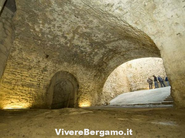 Le Cannoniere di San Michele - BG Sotterranea