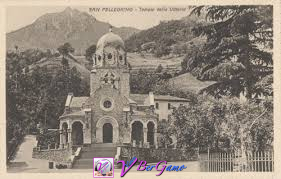 Foto storica Tempio dei Caduti San Pellegrino Terme